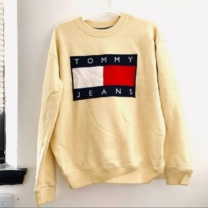 Tommy Hilfiger Light Yellow Sweatshirt